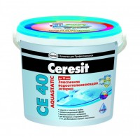 Затирка Ceresit СЕ 40 Aquastatic чили 2 кг