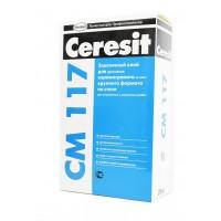 Эластичный клей для плитки Ceresit СМ 117 25 кг