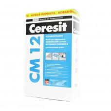 Клей для керамогранитной крупной плитки Ceresit CM 12 25 кг