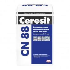 Высокопрочная выравнивающая смесь для пола Ceresit CN 88 25 кг