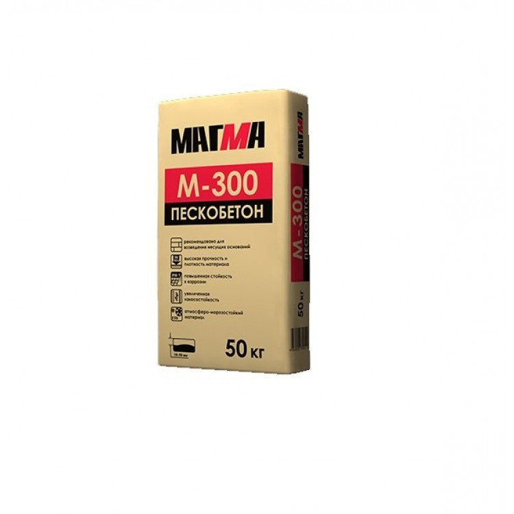 Пескобетон Магма М-300 х 50 кг