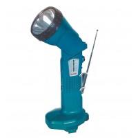 Аккумуляторный фонарь с радио ML124