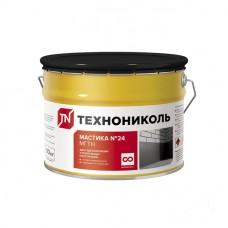 Мастика гидроизоляционная Технониколь №24 МГТН 10 кг