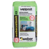 Шпаклёвка полимерная финишная Weber Vetonit KR, 20 кг