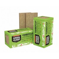 Базальтовая вата Технониколь GreenGuard Универсал 1200x600x50 - 100 мм 4 - 8 плиты